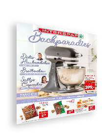 Sonderflugblatt Backen